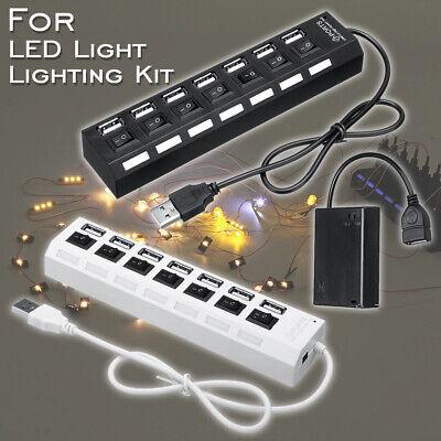 5V Batterie Box Power Functions mit USB Ports für  LEGO LED Licht Kit  (Usb Lego)