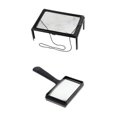 - 3X 3X High Definition Reading Magnifying Glass Magnifier Map Book Aid Lense