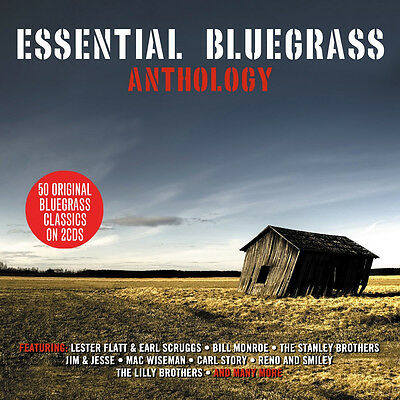 Essential Bluegrass Anthology Various Artists Best Of 50 Songs Music New 2 Cd