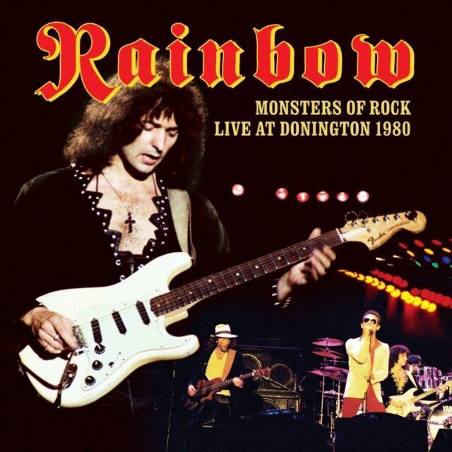RAINBOW - MONSTERS OF ROCK-LIVE AT DONINGTON 1980  DVD+CD NEU