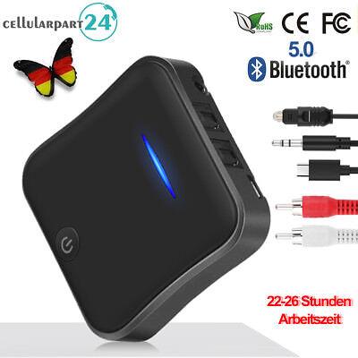 Bluetooth 5.0 Audio Stereo Transmitter & Empfänger Adapter Optical Toslink/SPDIF