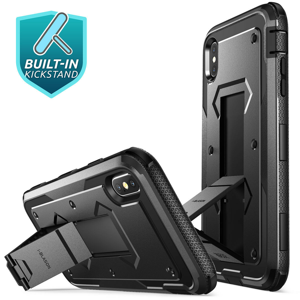 i-Blason Armorbox Full Case Armor Cover for iPhone Xs Max Xr