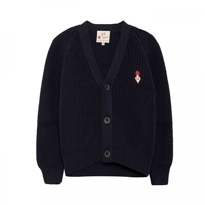 the animals observatory/cardigan/navy/12y/cotton