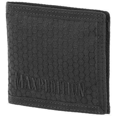 Maxpedition Agr Bi Fold Geldbörse Dünne Herren Hex Ripstop Geld Tasche Schwarz