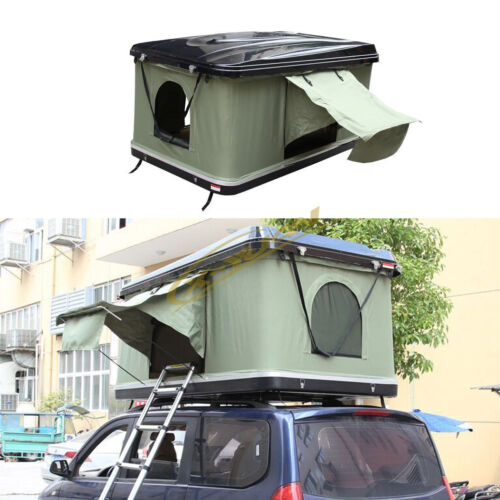Details about Pop Up ABS Hard Shell Overlander Camping Car/Truck/Suv/Van  Roof Top Tent