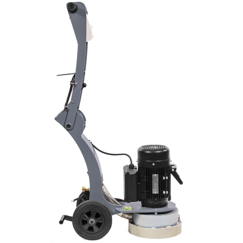 "1.5 HP Electric Floor Concrete Grinder 10"" Walk-Behind Adjustable Angle w/ Wheel"