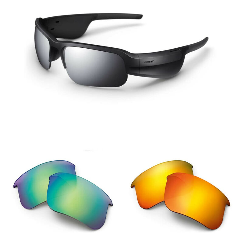 Bose Tempo Sports Bluetooth Audio Sunglass Frames and Two Replacement Lenses