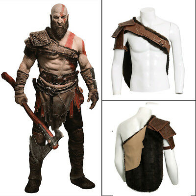 God Of Halloween (God of War 4 Cosplay Costume Kratos Shoulders Cross Shoulder Strap)