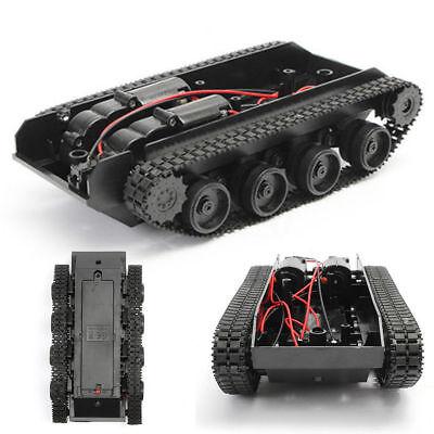 New Robot Smart Tank Chassis Diy Kit Car Arduino Light Shock For 130 Motor 3-7v