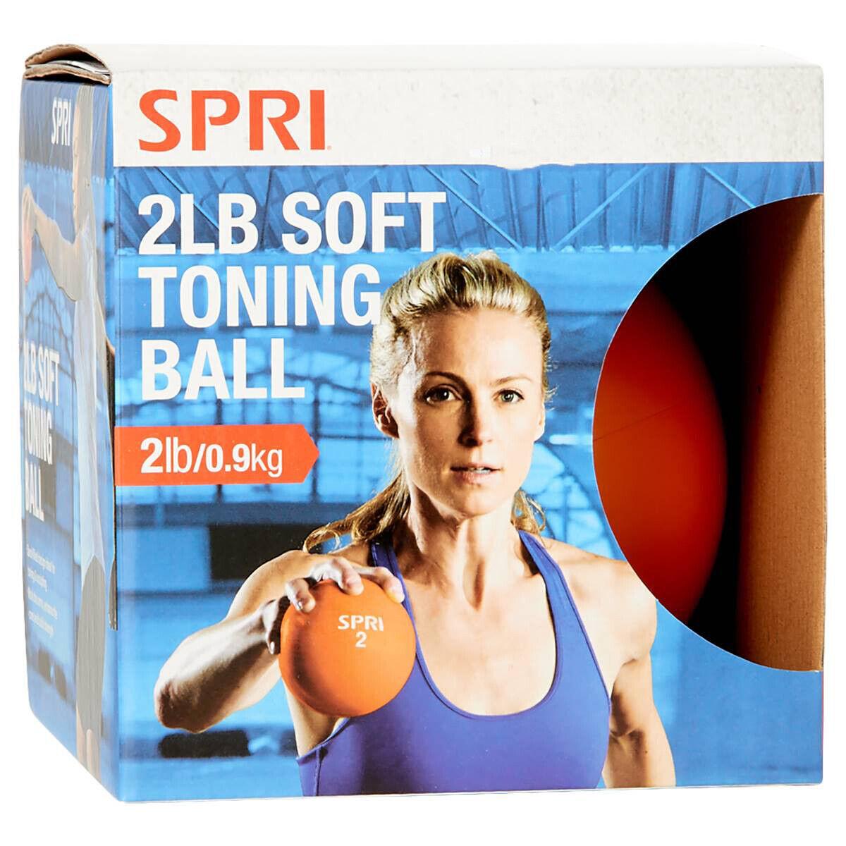 SPRI 2lb Soft Toning Weight Ball