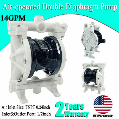 12 Air-operated Double Diaphragm Pump Strong Acid Base 12 Inch Inletoutlet