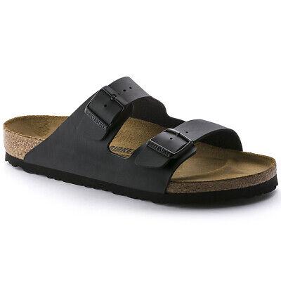 Brikenstock Arizona Unisex Black Sandals 44**Open Box**