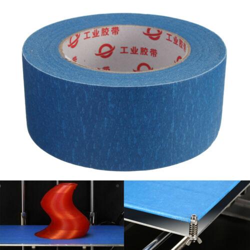 50mx50mm Blue Tape Painters Printing Masking Tool For Reprap 3D Printer O N F*XG