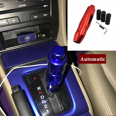 Aluminum alloy Automatic Car Gear Stick Shift Knob Shifter Lever Cover Button Competition Aluminum Shift Knob