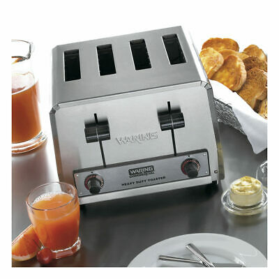Waring Wct800rc 4 Slot Dual Control 120v 1800w Heavy Duty Commercial Toaster