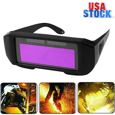Solar Auto Darkening Welding Helmet Eyes Welder Glasses Protect Glasses