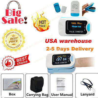 Contec Finger Tip Pulse Oximeter Blood Oxygen Meter Spo2 Heart Rate Monitorsale