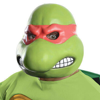 Teenage Mutant Ninja Turtles Raphael 3/4 Adult Costume Mask Rubies 4980