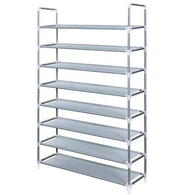 Mudroom Shoe Rack (Mudroom Shoe Tower Storage Rack Garage Entryway 40 Pairs Foot Wear Stand 8 Shelf )