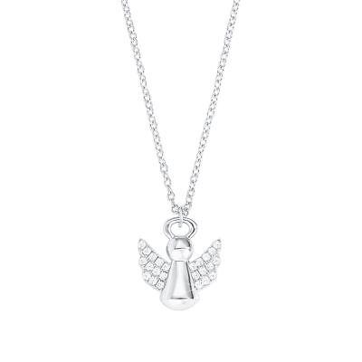s. Oliver jewel Kinder Schutz Engel mit Zirkonia Flügel Kette Silber 925 Neu