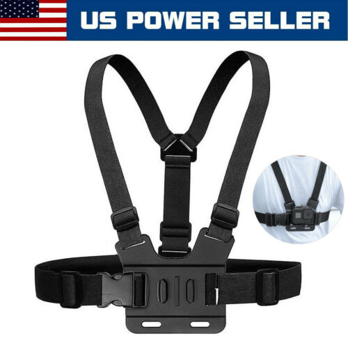 Adjustable Chest Body Strap Mount Accessories For GoPro Hero 3 4 5 6 7 8 Max 9