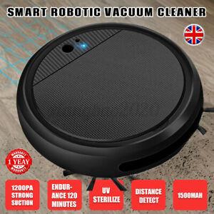 4 IN 1 Auto Smart Vacuum Cleaner Floor Carpet Sweeping Mopping Robot Cordless UK