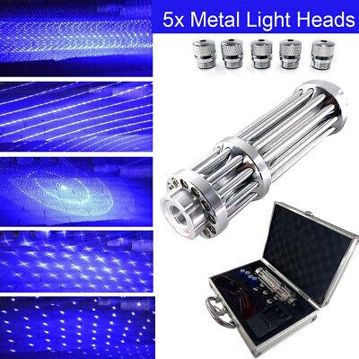 450nm Strong High Laser Pointer Adjustable Focus Handheld Laser Blue Lazer Pen