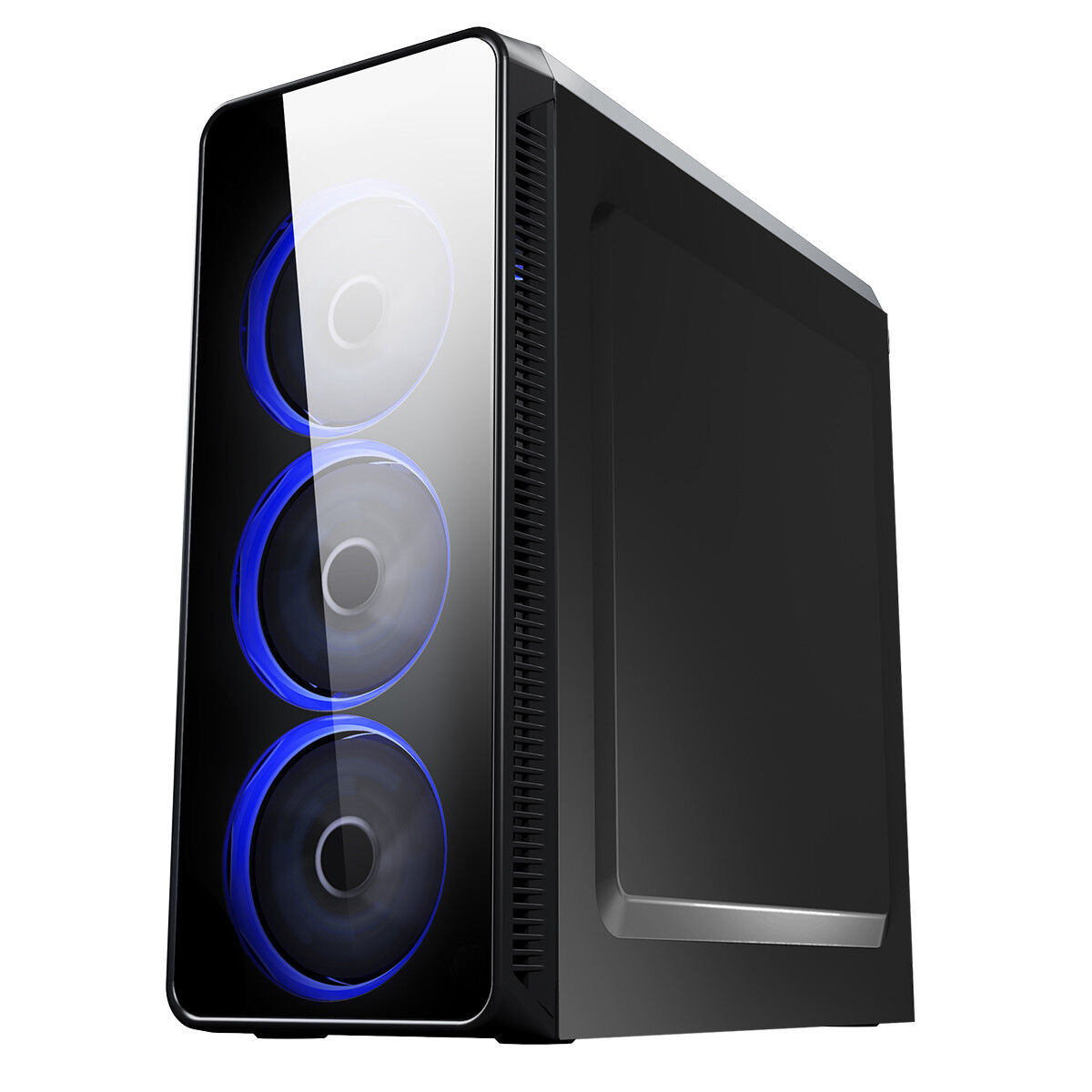 Computer Games - Mega Fast AMD 4.2 Quad Core 8GB 1TB USB3 Gaming PC Computer HD Graphics BLAZE