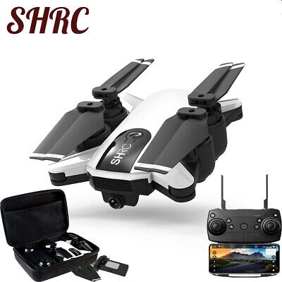 5G WIFI FPV GPS Drone With 1080P HD Camera Foldable Follow Me RC Quadcopter UK
