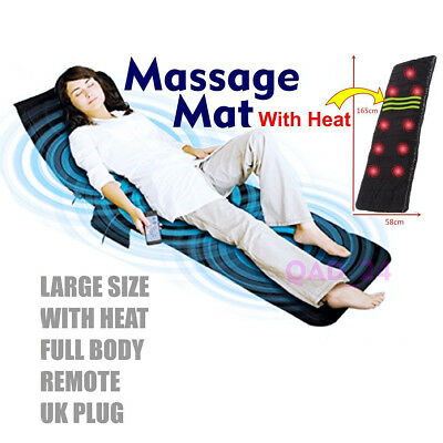 Massage Mattress Full Body Heated Massager Mat Remote Control Cushion Foldable  tweedehands  verschepen naar Netherlands