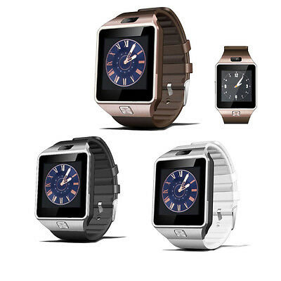 Bluetooth DZ09 Sports Smart Watch Phone Mate GSM SIM  For Samsung Android Phone