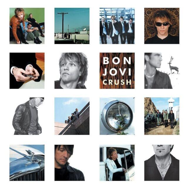 BON JOVI - CRUSH (2LP REMASTERED)  2 VINYL LP NEU