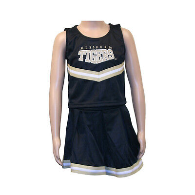 Missouri Mizzou Tigers Infant Baby Toddler Kids Cheerleading Outfit Uniform - Toddler Cheerleading Uniforms