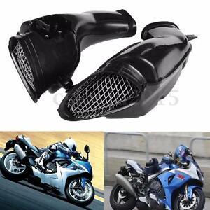 Black Motorcycle Ram Air Intake Tube Duct For SUZUKI GSXR 600/750/1000 00-03 k1