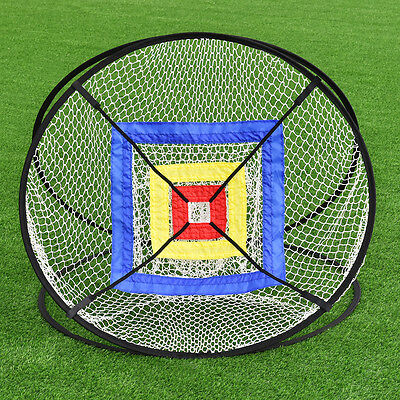 """New Portable 37"""" Golf Training Practice Net Chipping Hitting Aid In/Outdoor Bag"""