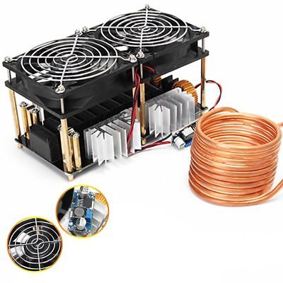 New 1800w Zvs Induction Heating Board Module Flyback Driver Heatertesla Coil