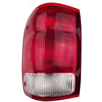 Left Tail Light - Fits 2000 Ford Ranger Pickup Rear Lamp - Driver Side New 2000 Ford Ranger Pickup