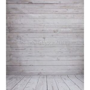 5x7Ft Wooden Wall Floor Photography Background Photo Cloth Backdrops for Studio