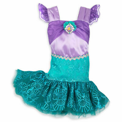 Disney Store Ariel The Little Mermaid Deluxe Baby Costume Dress Princess New