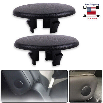 2x Armrest Rear Seat Cover Cap For Chevy Tahoe Suburban Cadillac Escalade Yukon