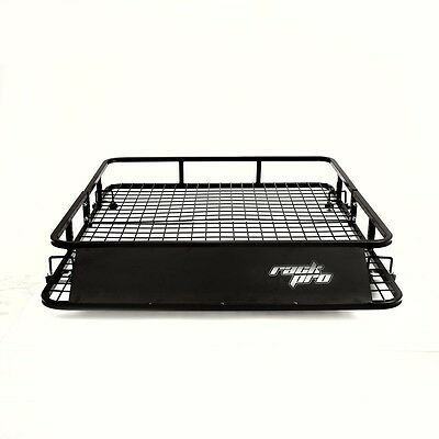 "Universal Roof Rack Basket Car Top Luggage Carrier Cargo Holder Travel 48"" x 40"""