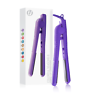 Herstyler Colorful Seasons Ceramic Flat Iron, Dual Voltage, 1.25 Inch Purple