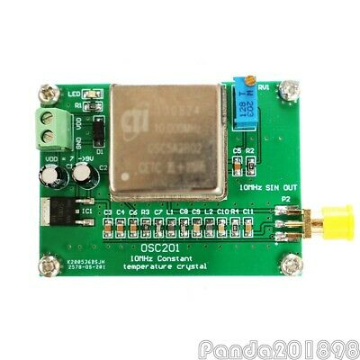 10mhz Frequency Standard Ocxo Frequency Reference Board Sine Wave High Stability