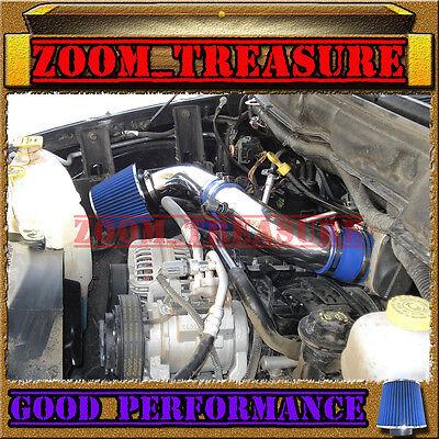 (BLUE 2003-2008/03-08 DODGE RAM 1500/2500/3500 5.7 5.7L V8 HEMI AIR INTAKE S Type)