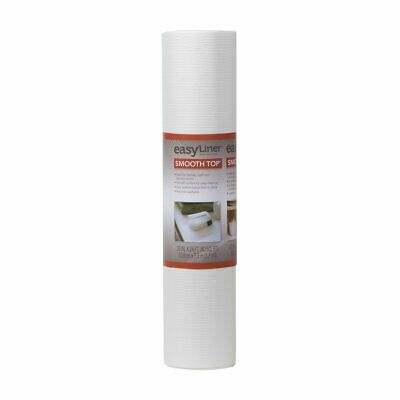 """Duck Brand 20"""" x 24' Smooth Top Shelf Liner, White"""