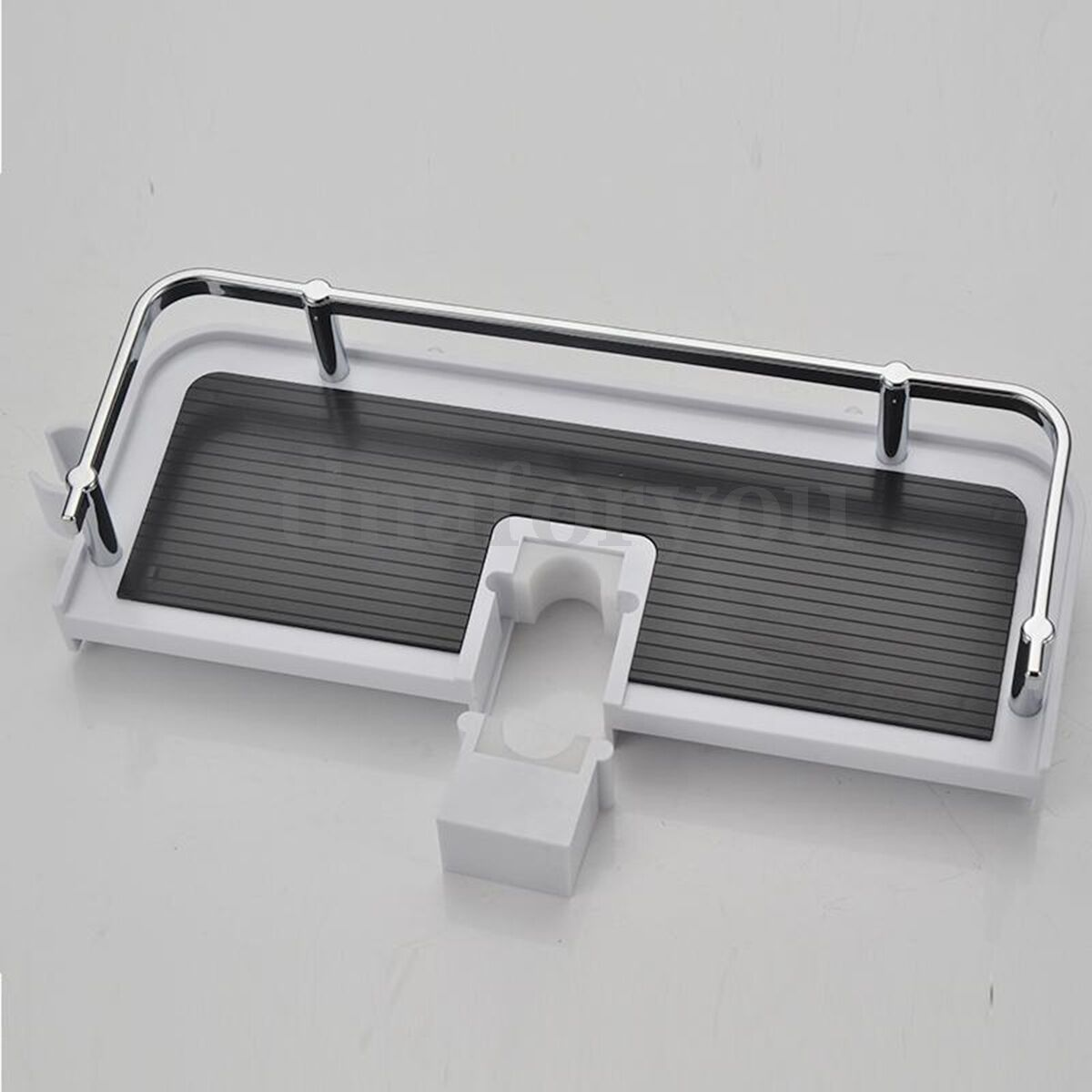 Bathroom Pole Shelf Shower Storage Caddy Rack Organiser Tray Holder Accessory