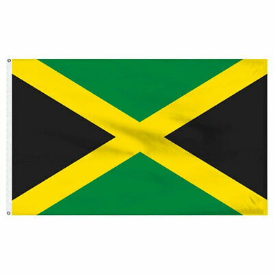 Jamaica Jamaican Flag 3×5 Polyester Indoor Outdoor Flag House Banner Décor