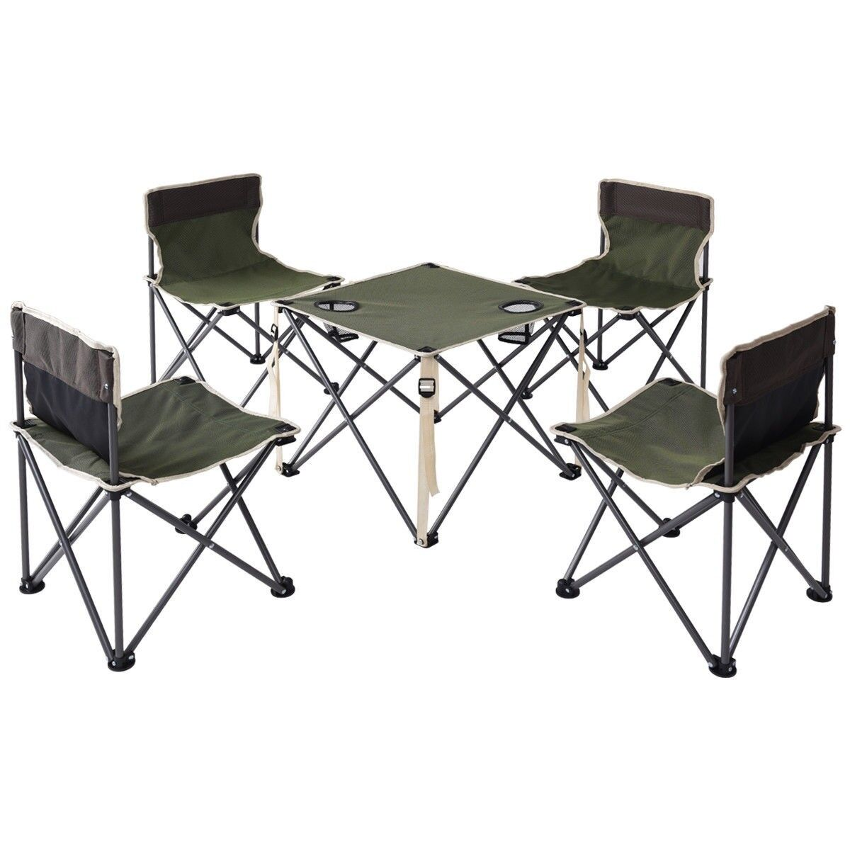 Fine Details About Folding Camping Table Chairs Portable Picnic Foldable Seats Outdoor Carrying Bag Inzonedesignstudio Interior Chair Design Inzonedesignstudiocom
