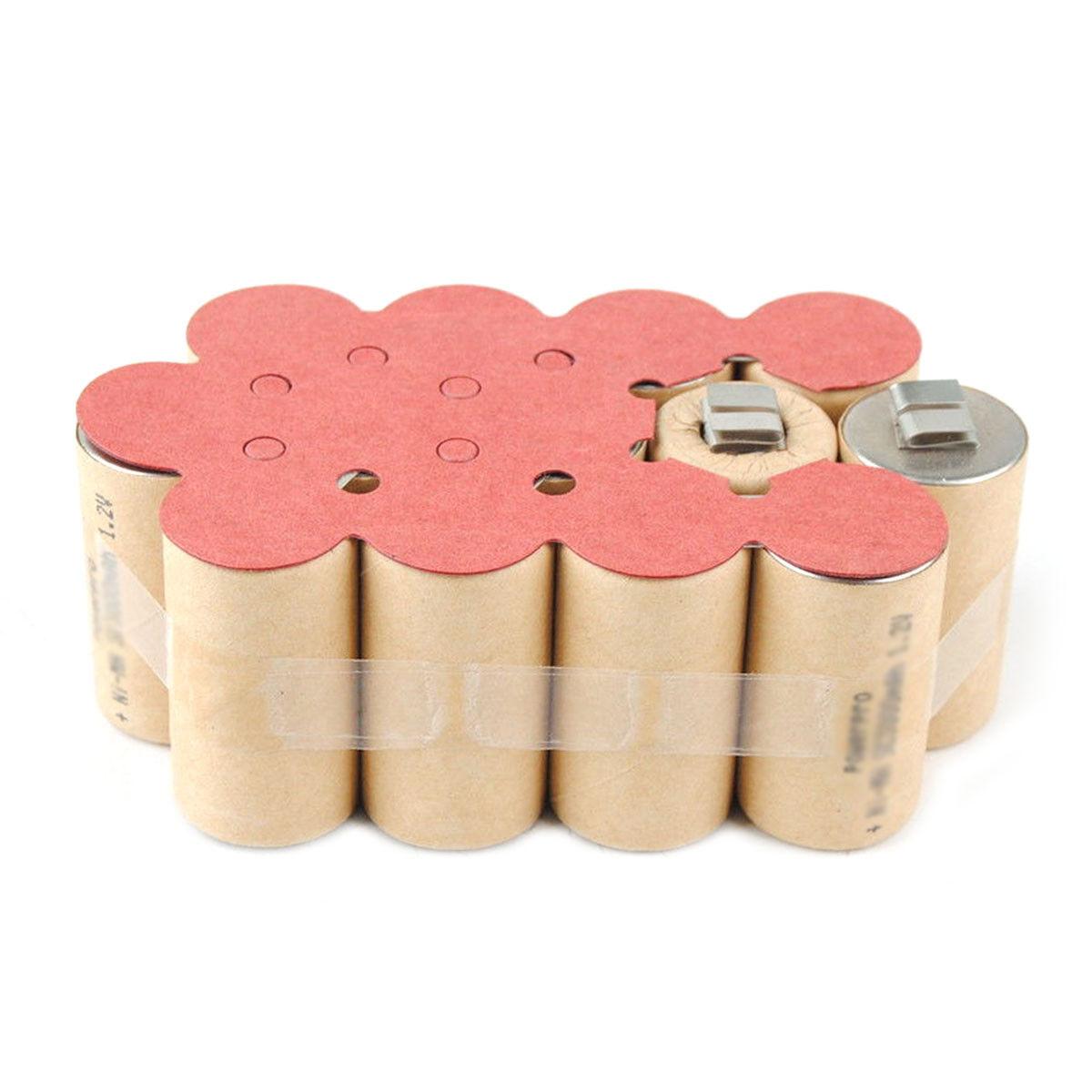 Battery Repacking Pack For Metabo BST BSP BS SBT 15.6 Plus 2.0Ah Ni-CD heavyduty