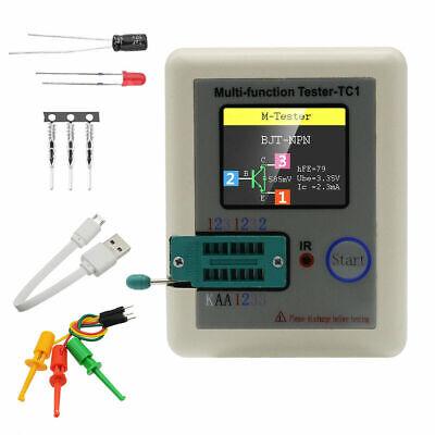 Transistor Tester Tft Diode Triode Capacitance Meter Lcr Esr Npn Pnp Mosfet Us